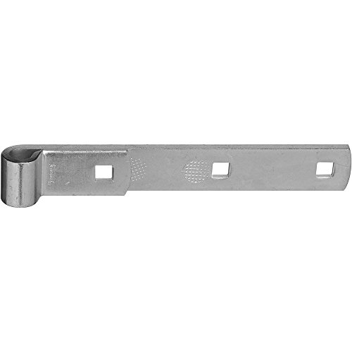 National Hardware N131-102 294BC Hinge Strap in Zinc plated