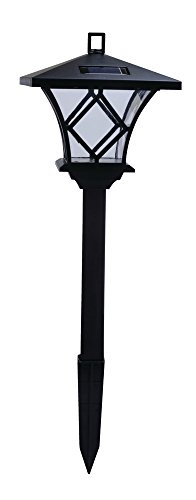 Moonrays 91379 Ridgely-Style Premium Output Solar Powered Plastic LED Path Light (Style Path)