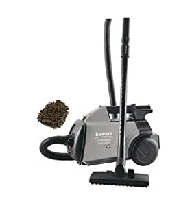 Sanitaire mighty mite s3686e canister vacuum for Kitchen set electrolux