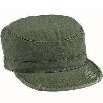 - 4508Olive Drab Vintage fatigue Cap (medium)
