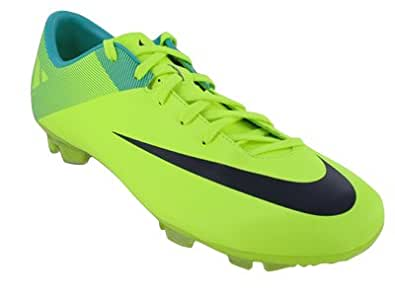 Nike Mercurial Miracle II FG Volt Green Mens Soccer Cleats Shoes 442047-754 [US size 11]