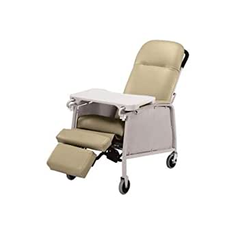 Lumex Three-Position Clinical Care Recliner, Doe Skin, FR574G851