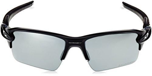 59 de Flak Oakley para Sol Matte 2 918853 Black Hombre Gafas Xl PRqHgq1O