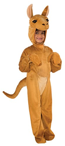 Forum Novelties Kids Plush Kangaroo Deluxe Costume, Small, O