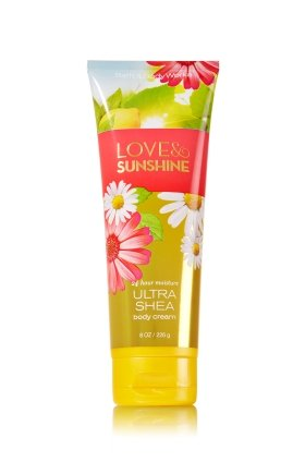 Bath & Body Works, Love and Sunshine, Ultra Shea Body Cream for $<!--$6.85-->