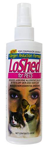 LoShed for Pets - Allergen Reduction Formula Spray Bottle - 6.8 Fluid Ounces ()