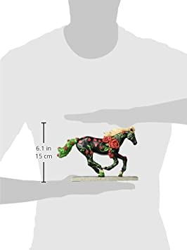 Westland Giftware Horse of A Resin Figurine, for The Roses