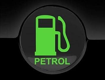 Verde Brillante Jasoncarlmorgan Jcm Carburante Benzina solo Tappo Serbatoio Cover Auto Adesivo