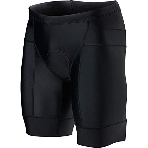 TYR Competitor 8in Tri Short - Men's Black, ()