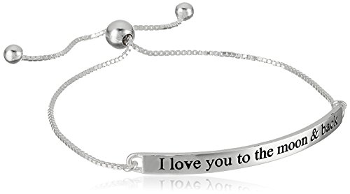 Sterling Silver Love Adjustable Bracelet