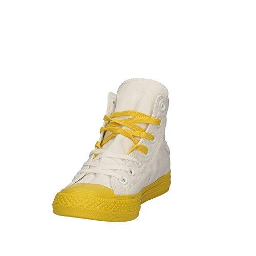 Converse 156764C Sneakers unisexo blanco y amarillo