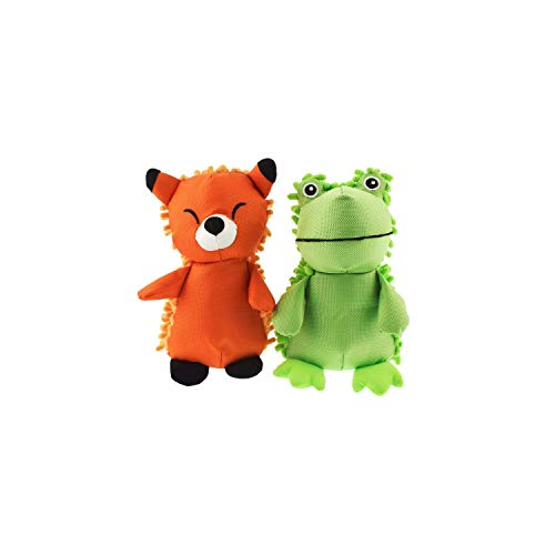 Hyper Pet Plush Dog Toy Play Pack Large 2Pk