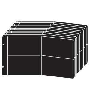 Genuine Raika fold-out refills pages - 4x6 from Raika