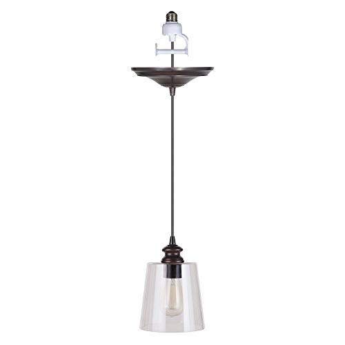 - Worth Home Products PBN-3224-0011 Instant Pendant Light for Shades Single Light 7
