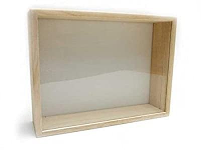 insectech Wood sample box:Medium-sized (Glass lid)