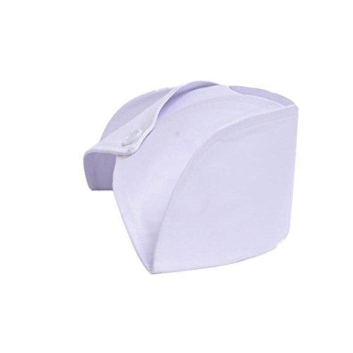 Tinksky Women Nurse Hat Nurse Costume Cap Accessories Decoration (White) (Nurse Party Decorations)
