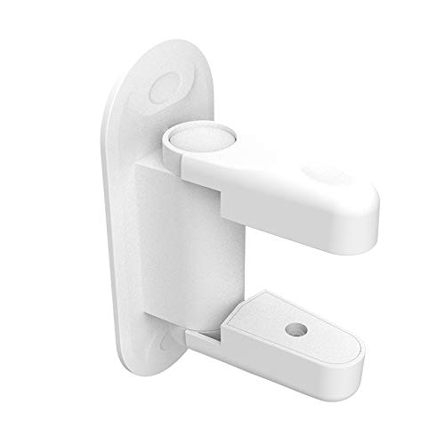 Door Lever Lock Child Safety Proof Doors Handles Lock & Handles 3M Adhesive White (4 Pack) by Kimmyi (Image #2)