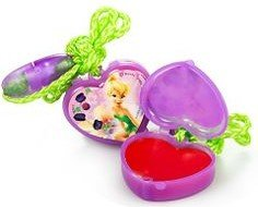 Tinkerbell Tiny Sweet Treats Lip Gloss Necklaces (Set of