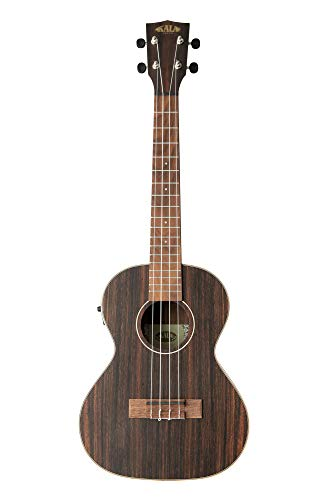 Kala KAEBYTE Tenor Ukulele w/EQ - Satin Striped Ebony