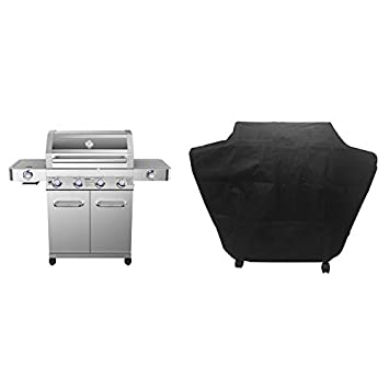 MRT SUPPLY Grills Parrilla de Gas propano de Acero ...