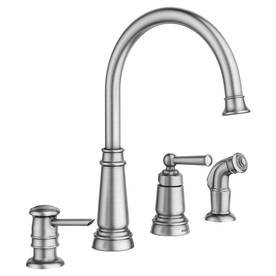 Moen 87042SRS One-Handle High Arc Kitchen Faucet Spot Resist Stainless