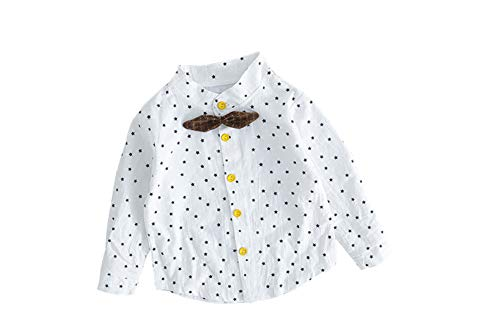 Shirt 12 2Pcs Yellow Star Clothes Boys Gentleman Baby Strap Pant Size Set Outfit White Fairy Toddler Plaid 24M 6xq8ntx
