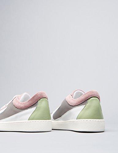 Finde Sneaker Kvinder I Læder Og Åndbar Mesh Mere Farve (flerfarvet) jqzLe
