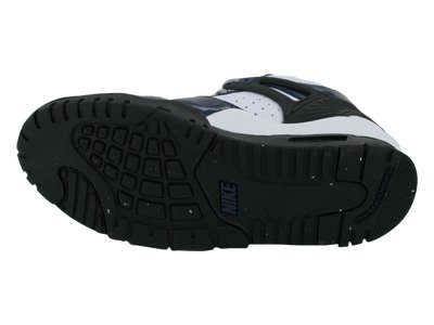 Nike Air Trainer 3 (gs) Iii Bianco / Blu Bambini Scarpe Crosstraining 344950-401 Blu Notte / Metallico Argento-bianco-nero