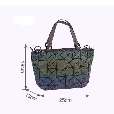 cd503b2c6122 Amazon.com: DingXiong Women Bucket Bag Geometic Sequins Mirror Laser ...