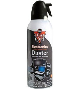 Falcon Dust Off Compressed Gas Duster 10 oz (1 Can)