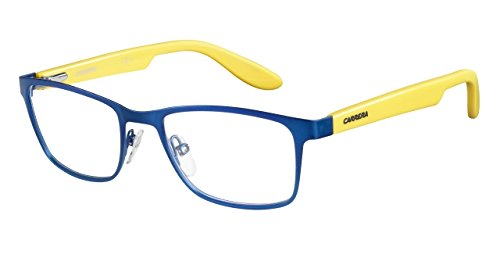 Carrera Carrerino 53 Eyeglass Frames CARRE53-0HNN-4917 - Blue Yellow Frame Lens Diameter 49mm