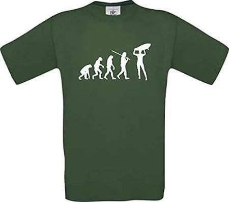 Shirtinstyle Camiseta de Evolución Tablista Surf Surf Deporte ...