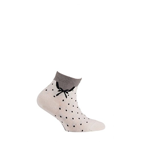 En Claudine Blanc Courtes Modèle Achile Chaussettes Coton Iqw84wTSx6