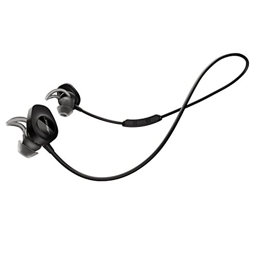 (Bose SoundSport Wireless Headphones, Black (Renewed))