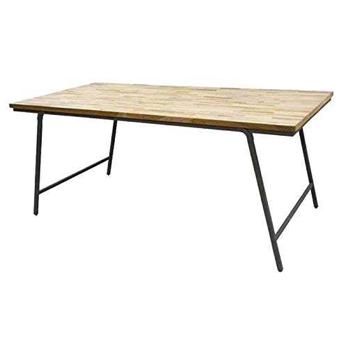 Citizen Mesa de Comedor Industrial Plegable 180 x 90 x 77 cm ...
