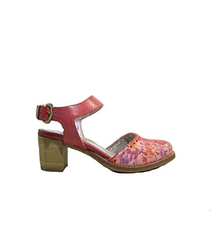 baako - Coloris - Red, Matiere - Cuir, Taille - 37