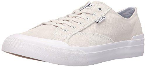 Huf Heren Klassieke Lage Ess Enkelshoge Mode Sneaker Beenwit