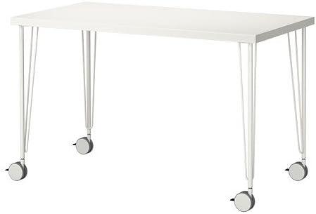 Ikea Linnmon Krille Tableau Blanc 120x60 Cm Amazon Fr Cuisine Maison