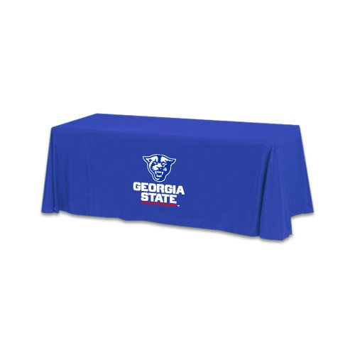 Georgia State Royal 6 foot Table Throw 'Official Logo' by CollegeFanGear