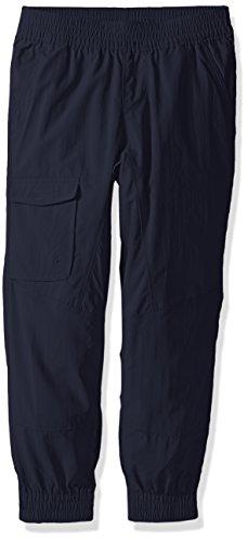 Kids Hiking Pants - Columbia Girls Silver Ridge Pull-on Banded Pant, Nocturnal, Medium