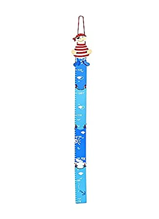 Mousehouse Gifts Kids Blue Pirate Height Chart Boys Bedroom or ...