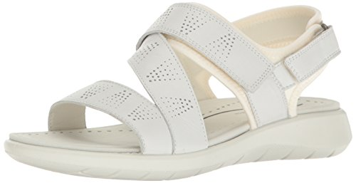 ECCO 5 Donna Wei 50874white Soft Sandal Sandali White rfqOxrw5
