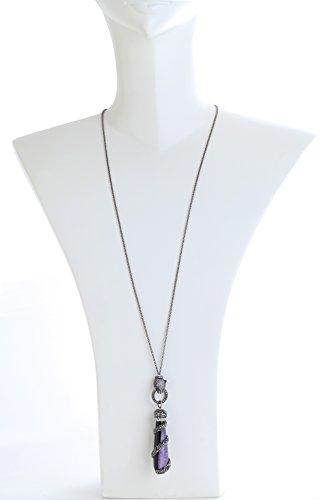 Katerina Psoma femme  Argent 925/1000  Argent|#Silver Poire   Violet Achat Kristall