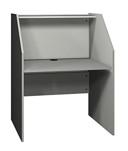 Ironwood Study Carrel Base, Grey (BSCGG) (Ironwood Furniture)