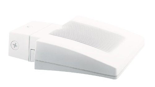 RAB WPLED26NW Lpack Wallpack 26W Neutral Color Temp Led with Backplate and Junc Box, White Color