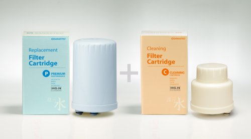 Combo Special: Premium Performance Filter & Reusable Cleaning Cartridge- HGN Type (Please see product images to verify the filter type) by Sanastec