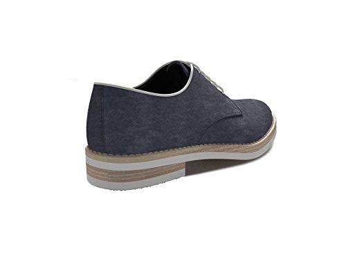 Dis Mujer – Liso Derby Oriana – Azul Zapato S7wxrSBq