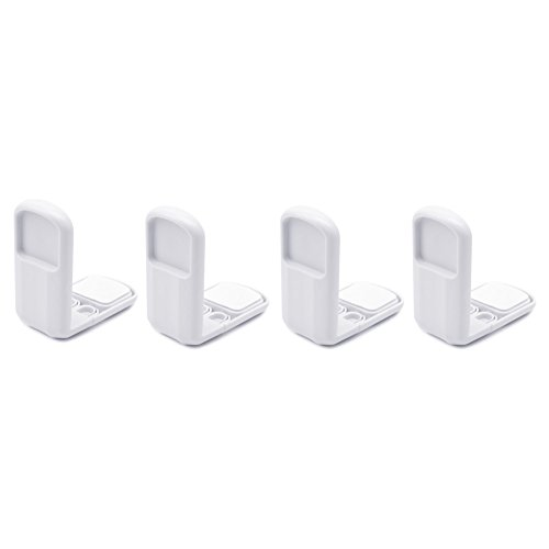 4pcs Baby Safety Magnetic Cabinet Locks with Key (White) - 6