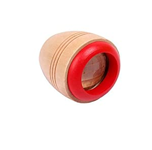 4 Pcs/set Magic Bee Eye Effect Kaleidoscope Wooden Kids Toy Prism to Observe the Colorful World Funny Children Gifts