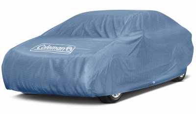 Coleman Premium Signature Car Cover - 3 Layer Indoor-Outdoor Cover Waterproof/Dustproof/Scratch Resistant/UV Protection for Vehicles up to 210
